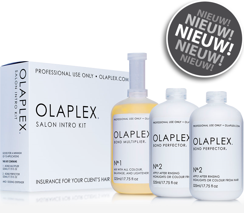 Olaplex 1, 2 en nr. 3